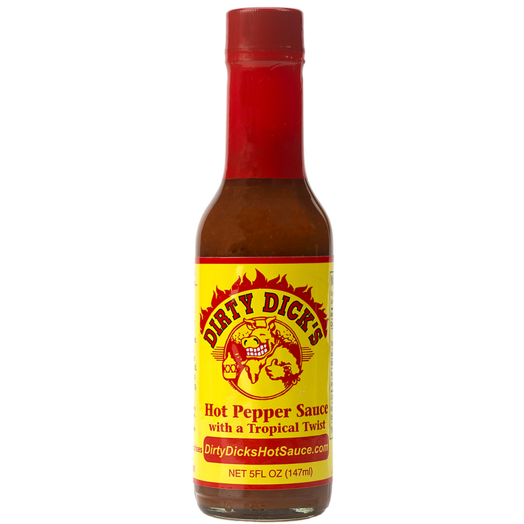 Dirty Dick's Hot Pepper Sauce 5 oz. - The Kansas City BBQ Store