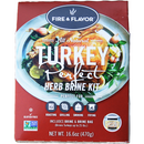 Fire & Flavor All Natural Turkey Perfect Herb Brine Kit - The Kansas City BBQ Store