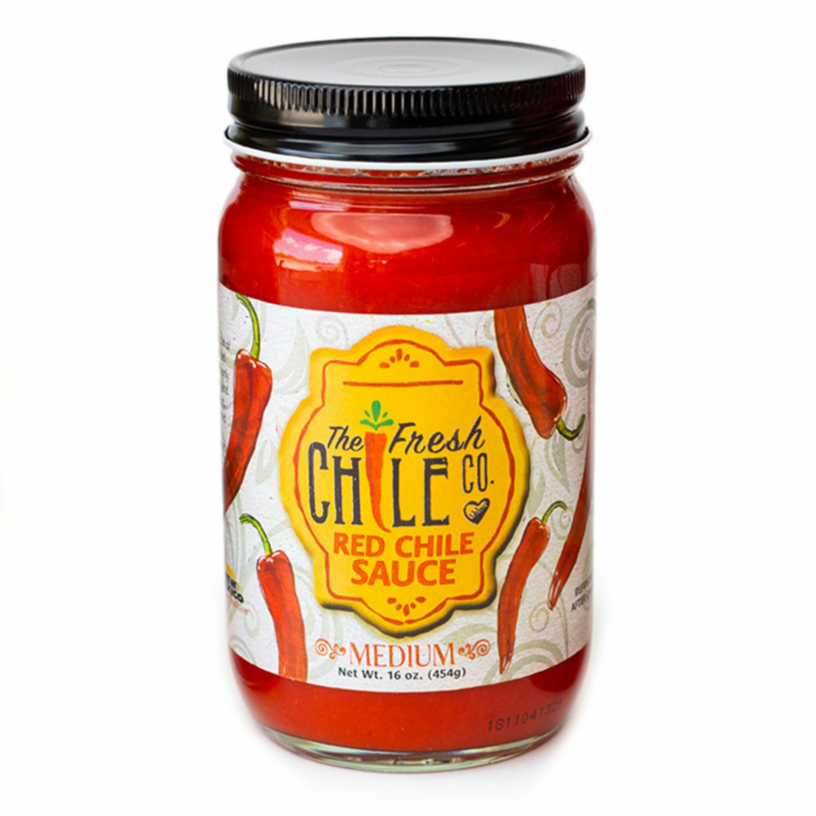 The Fresh Chile Co. Red Chile Sauce Medium 16oz - The Kansas City BBQ Store