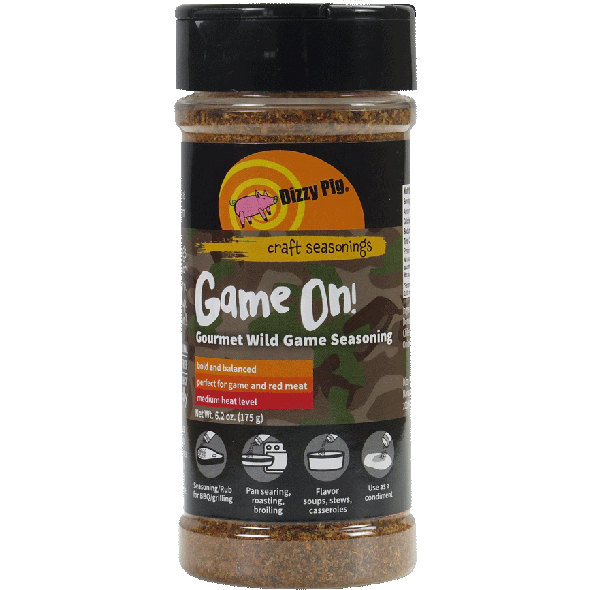 Dizzy Pig Game On! Barbecue Seasoning 8 oz.