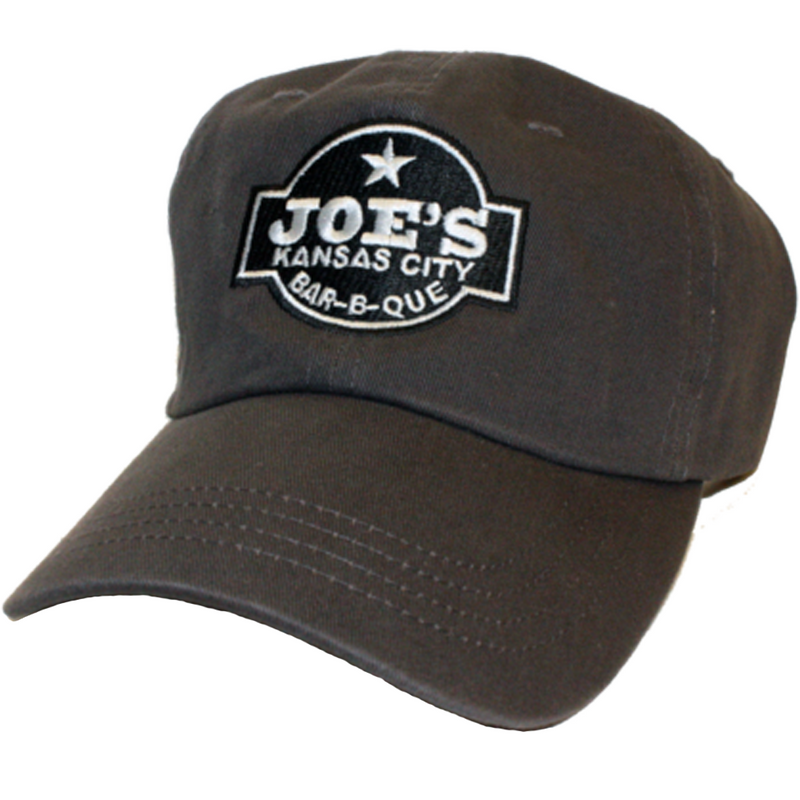 Joe's Kansas City logo hat, white - The Kansas City BBQ Store