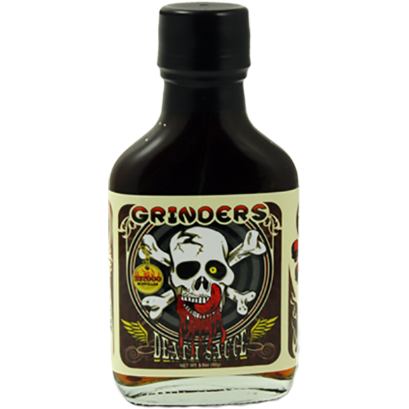 Grinders Death Sauce 3.5 oz. - The Kansas City BBQ Store