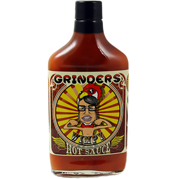 Grinders Wimpy Hot Sauce 13.5 oz. - The Kansas City BBQ Store