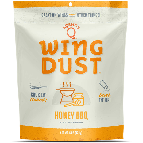 Kosmo's Q Honey BBQ Wing Dust 5oz - The Kansas City BBQ Store