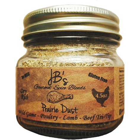 JB's Gourmet Spice Blends Prairie Dust 4.5 oz. - The Kansas City BBQ Store