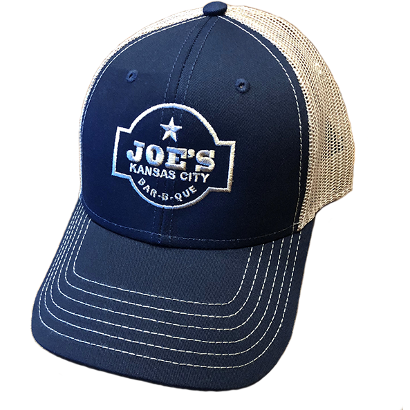 Joe's Kansas City Bar-B-Que Navy/Tan Trucker Hat