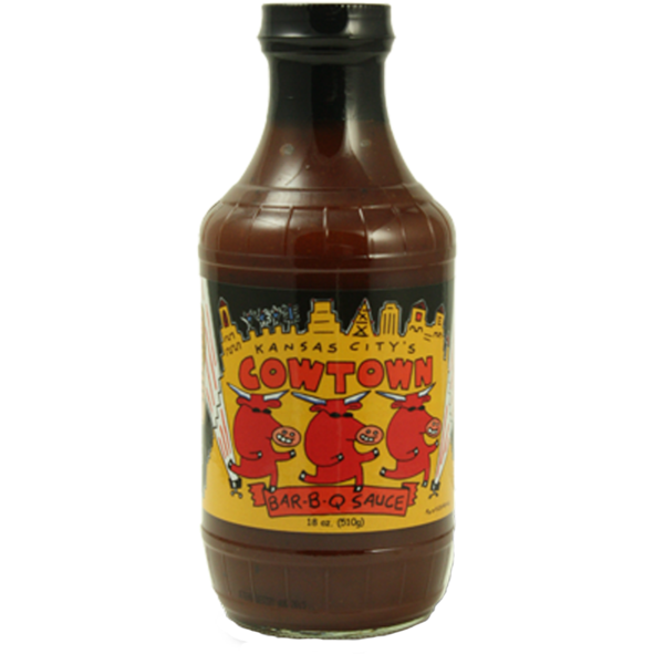 Cowtown Bar-B-Q Sauce 18 oz. - Case of 12 - The Kansas City BBQ Store