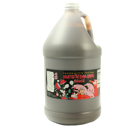 Cowtown Night of the Living Bar-B-Q Sauce 1 Gallon
