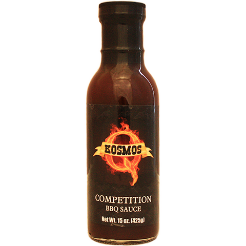 Kosmo's Competition BBQ Sauce  15 oz. at The Kansas City BBQ Store