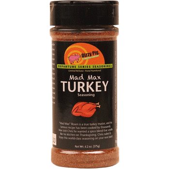 Dizzy Pig Mad Max Turkey Seasoning  6.2 oz