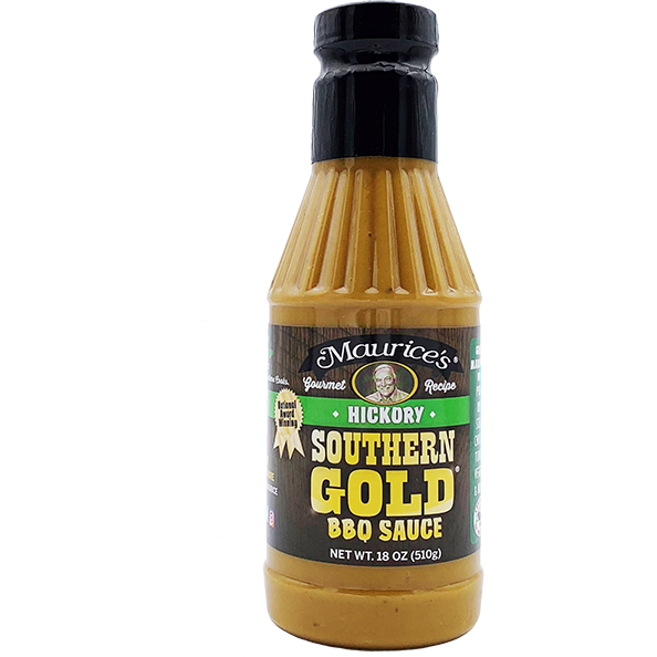 Maurice's Southern Gold Hickory BBQ Sauce 18 oz. - The Kansas City BBQ Store