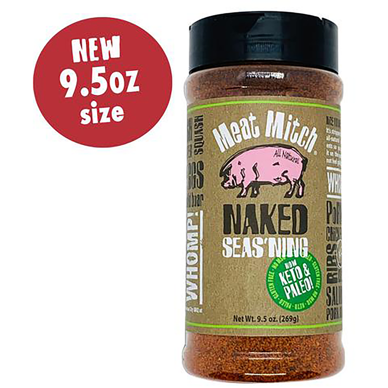 Meat Mitch Naked Rub 10.5 oz. - The Kansas City BBQ Store