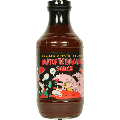 Cowtown Night of the Living Bar-B-Q Sauce 18 oz. - The Kansas City BBQ Store