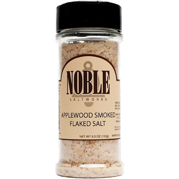 Noble Saltworks Applewood Smoked Salt 5.3 oz. - The Kansas City BBQ Store
