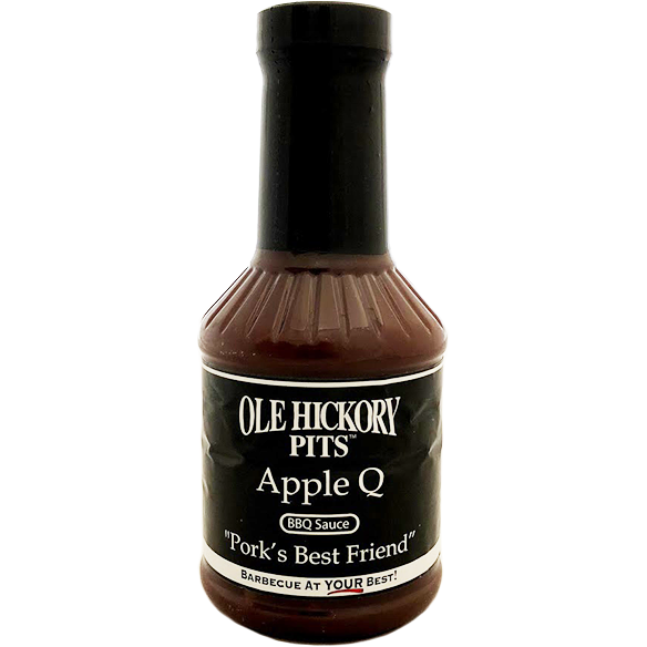 Ole Hickory Pits Apple Q BBQ Sauce 19 oz. - The Kansas City BBQ Store
