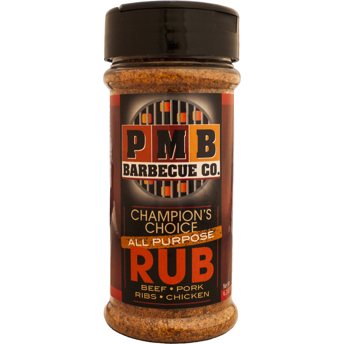 PMB Barbecue Co. Champion's Choice All Purpose Rub 6.2 oz. - The Kansas City BBQ Store
