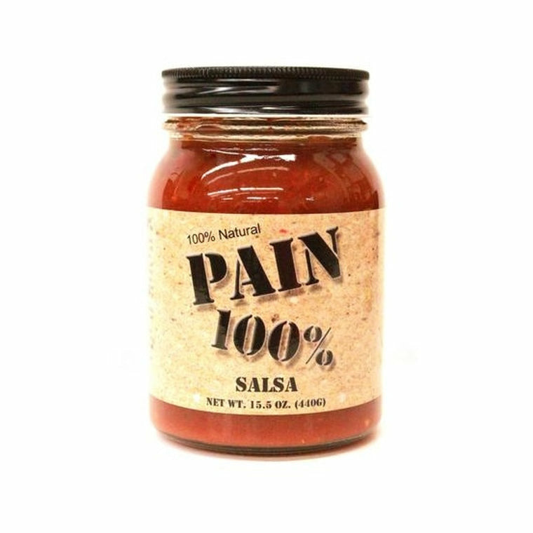 Pain 100% Salsa 15.5oz - The Kansas City BBQ Store