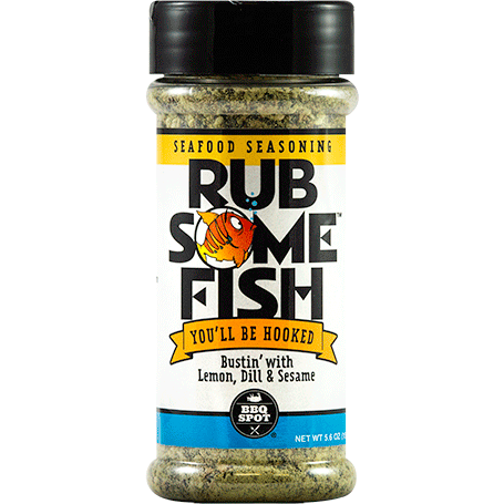 Rub Some Fish Seafood Seasoning 5.5oz