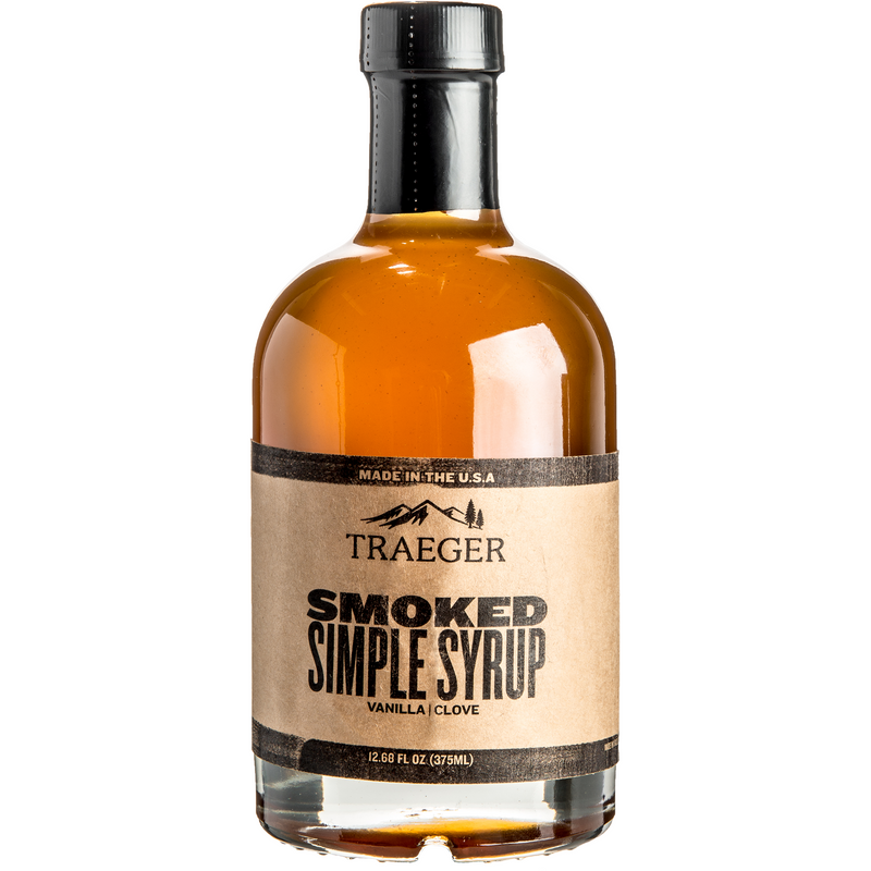 Traeger Smoked Simple Syrup 12.68oz - The Kansas City BBQ Store
