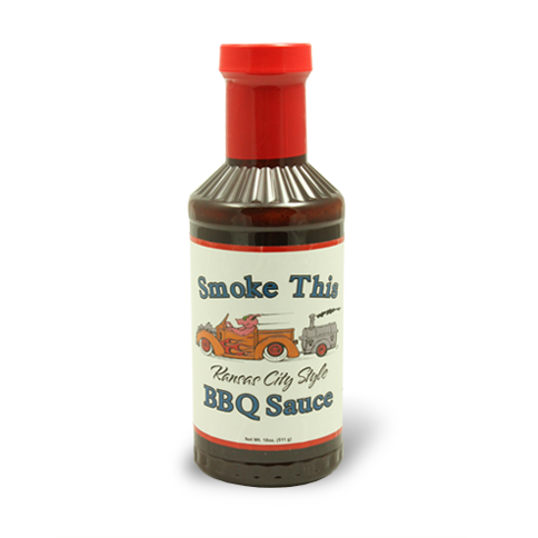 Smoke This Kansas City Style BBQ Sauce 18 oz. - The Kansas City BBQ Store