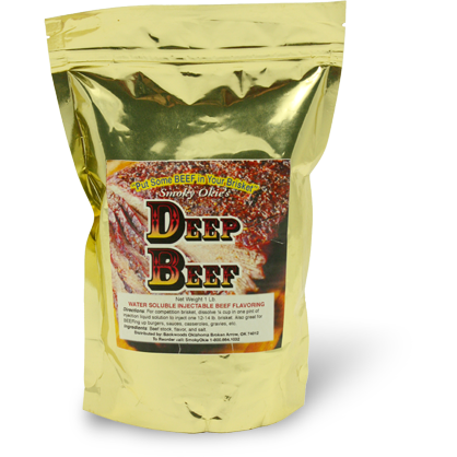 Smoky Okie's Deep Beef Injection 1 lb.