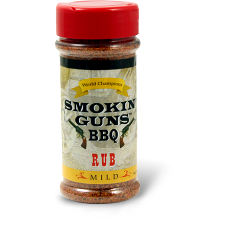 Smokin' Guns BBQ Mild Rub  7 oz.