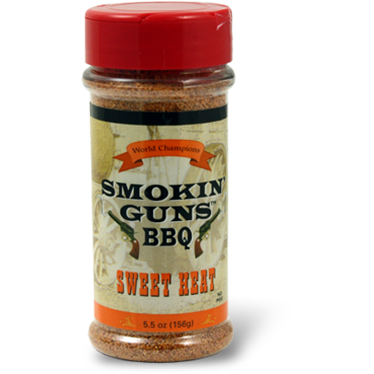Smokin' Guns Sweet Heat BBQ Rub 4.8 oz.
