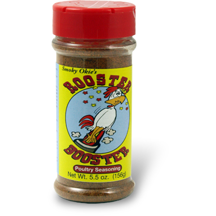 Smoky Okie's Rooster Booster Poultry Seasoning 5.5 oz.