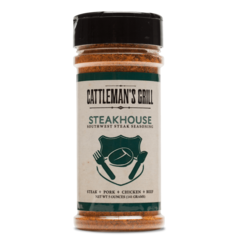 Cattleman's Grill Steakhouse Seasoning 12.5 oz. - The Kansas City BBQ Store