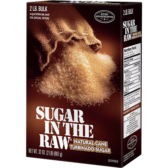 Sugar In The Raw Natural Cane Turbinado Sugar, 2 lbs. - The Kansas City BBQ Store