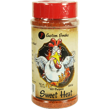 JP's Custom Smoke Sweet N' Heat BBQ Rub  11.5 oz. - The Kansas City BBQ Store