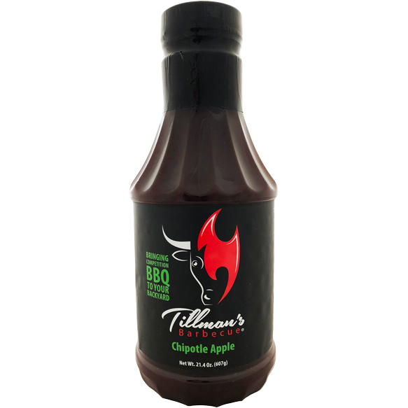 Tillman's Chipotle Apple BBQ Sauce 21.4 oz.