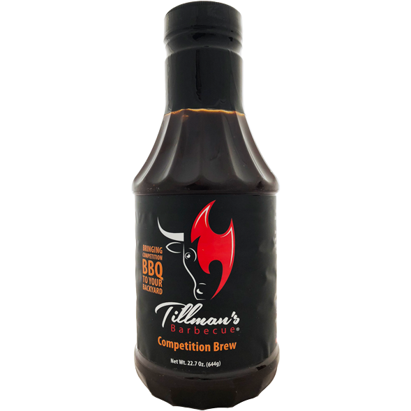 Tillman's Competition Brew BBQ Sauce 22.7 oz.