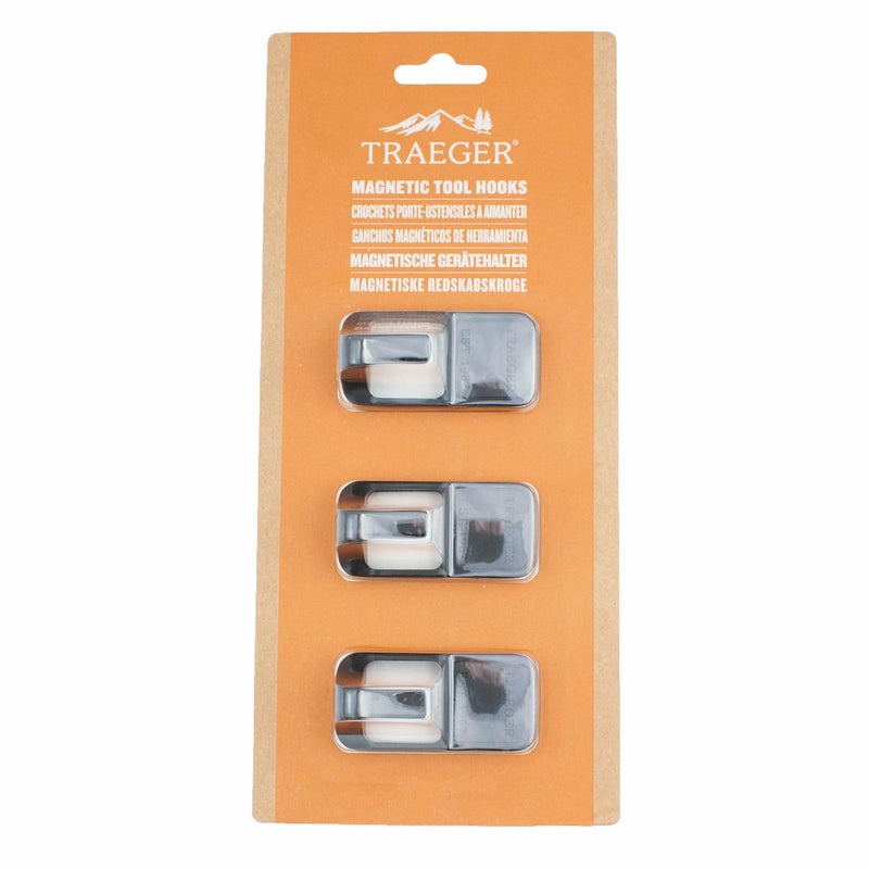 Traeger Grill Hopper Magnetic Hooks, 3-Piece - The Kansas City BBQ Store