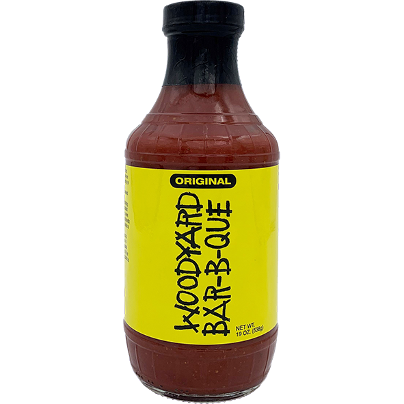 Woodyard Bar-B-Que Original Sauce 19 oz. - The Kansas City BBQ Store