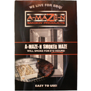 "A-Maze-N Tube Smoker 5"" x 8"" Maze - The Kansas City BBQ Store"