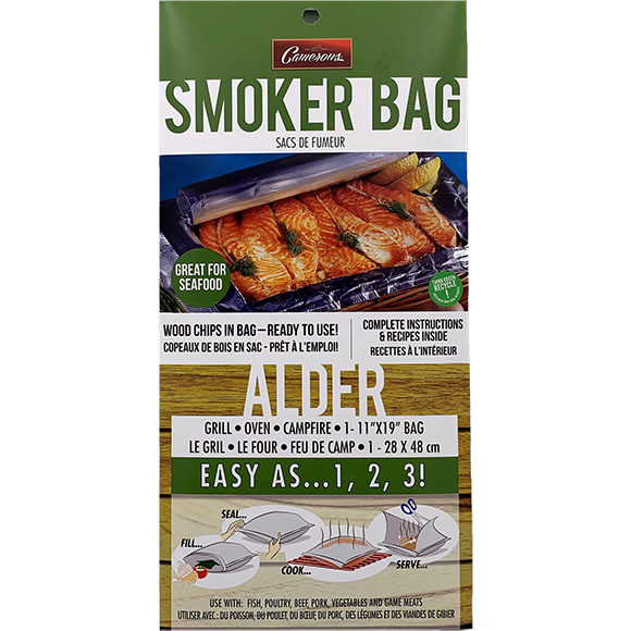 Camerons Alder Smoker Bag - The Kansas City BBQ Store