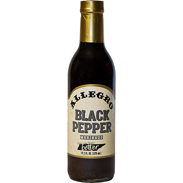 Allegro Black Pepper Marinade  12.7 oz. - The Kansas City BBQ Store