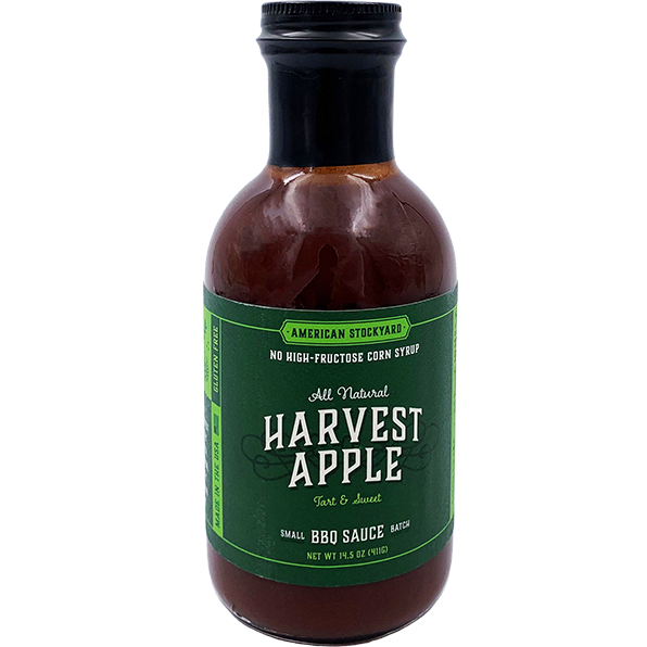 American Stockyard Harvest Apple BBQ Sauce 14.5 oz.