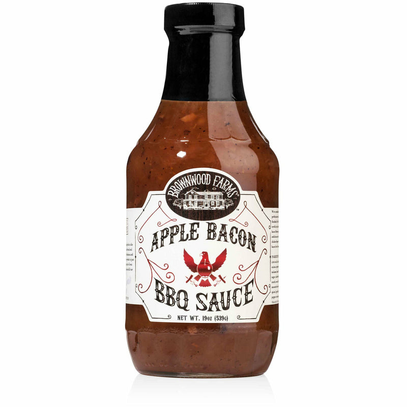 Brownwood Farms Apple Bacon BBQ Sauce 19 oz. - The Kansas City BBQ Store