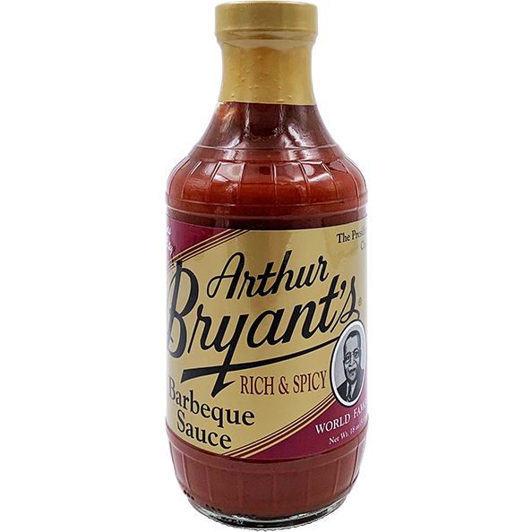 Arthur Bryant's Rich & Spicy Barbeque Sauce 18 oz. - The Kansas City BBQ Store