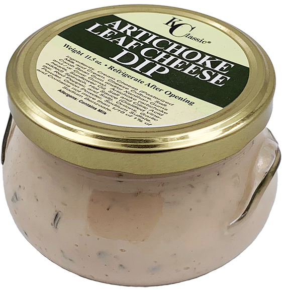 KC Classic Artichoke Leaf Cheese Dip 11.5 oz. - The Kansas City BBQ Store