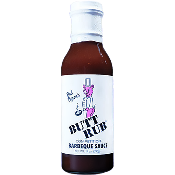 Bad Byron's Butt Rub Competition Barbeque Sauce 14 oz. - The Kansas City BBQ Store
