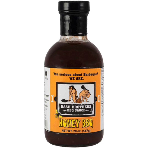 Bash Brothers Honey BBQ Sauce  20 oz.