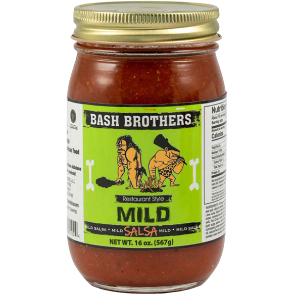 Bash Brothers Mild Salsa  16 oz. - The Kansas City BBQ Store