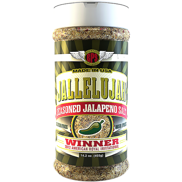 Big Poppa Smokers Jallelujah 14.2 oz. - The Kansas City BBQ Store