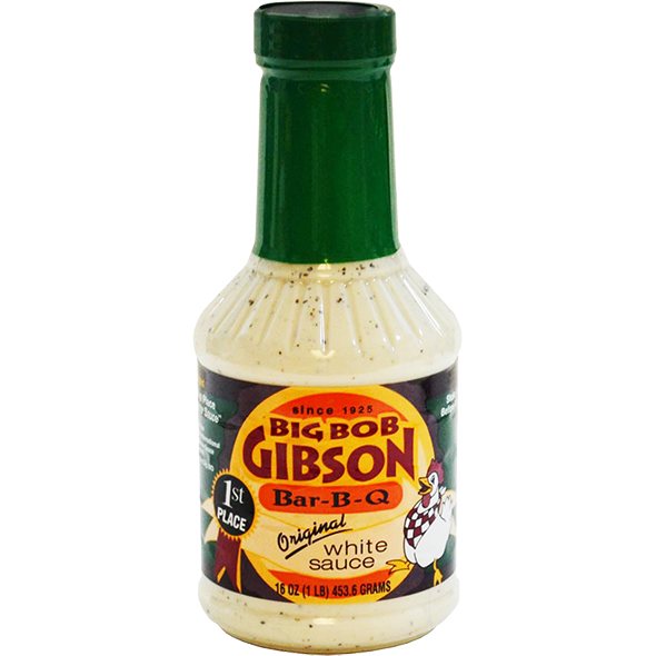 Big Bob Gibson Bar-B-Q White Sauce 16 oz.