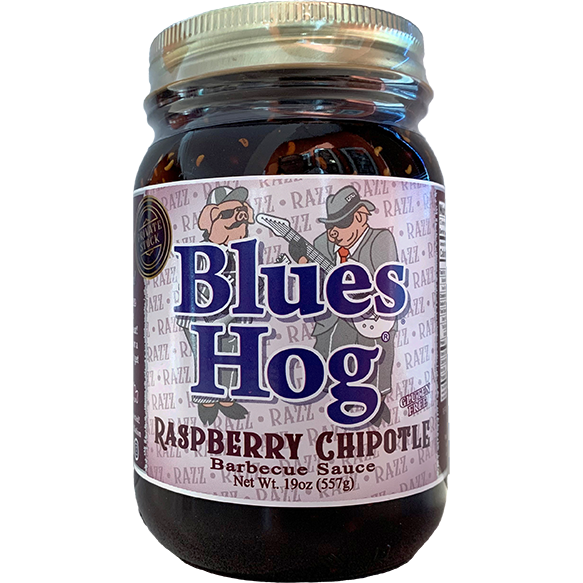 Blues Hog Raspberry Chipotle BBQ Sauce 19 oz. - The Kansas City BBQ Store