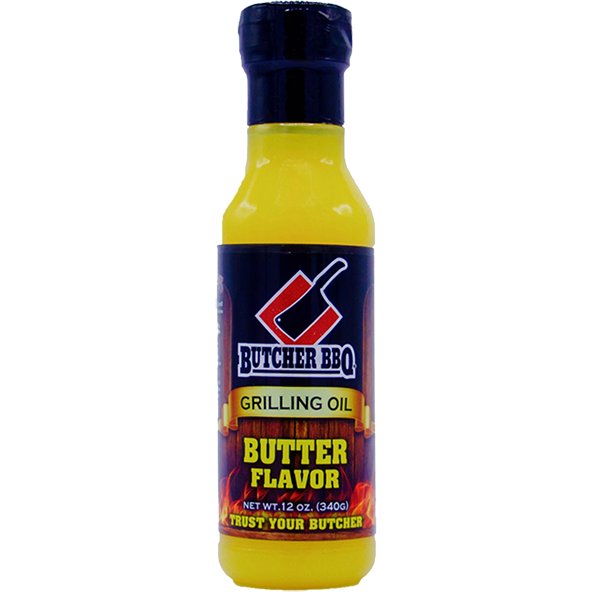 Butcher BBQ Butter Grilling Oil 12 oz. - The Kansas City BBQ Store