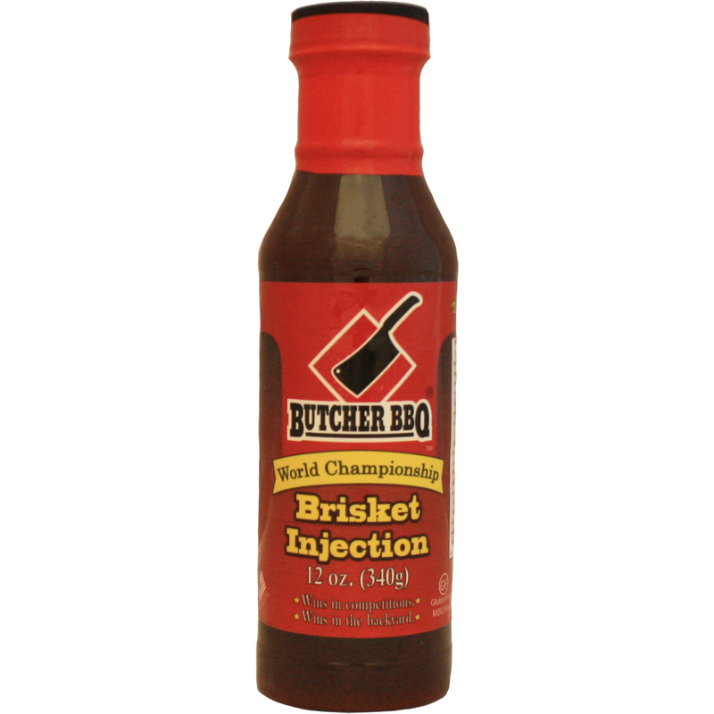 Butcher BBQ Brisket Injection 12 oz. - The Kansas City BBQ Store